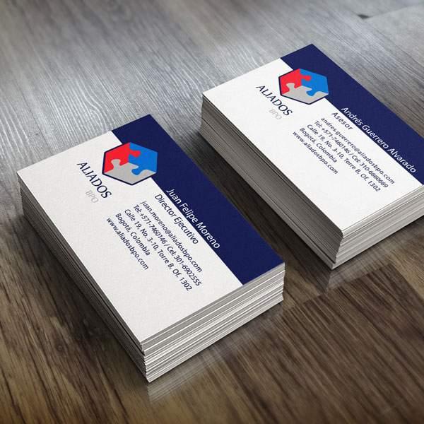 Aliados BPO cards