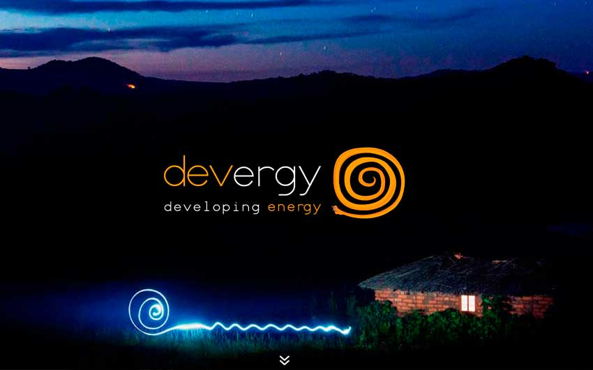 devergy homepage