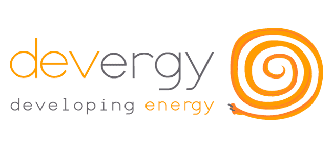 devergy logo makeover