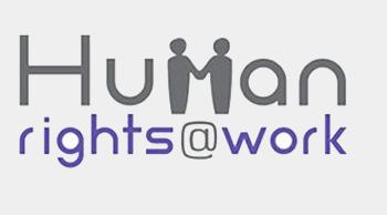 Human Rights at work / logo previo