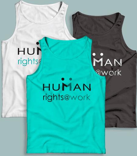 Human Right at Work T-shirts