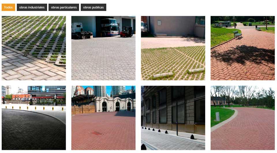 galerías de imágenes del sitio