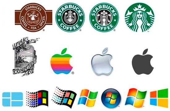 evolucion logos famosos