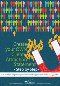 Create Your Own Client Attraction Statement