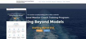 mentor coach course website