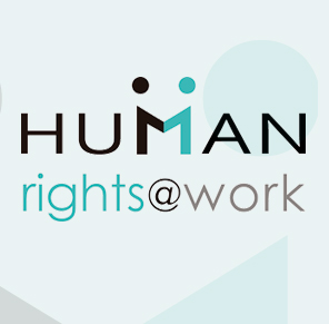 Human Rights at work / logo nuevo