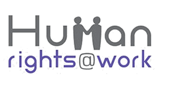Human Rights at work / logo previo
