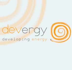 devergy / logo nuevo