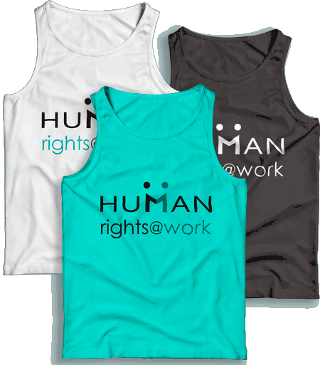 Human Right at Work T-shirts