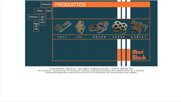 antiguo sitio web de Moriblock