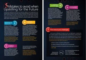 5 Mistakes to avoid when Upskilling for the Future / flyer / The Netherlands