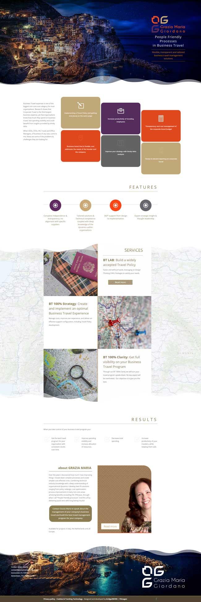 sitio web Grazia Maria Giordano