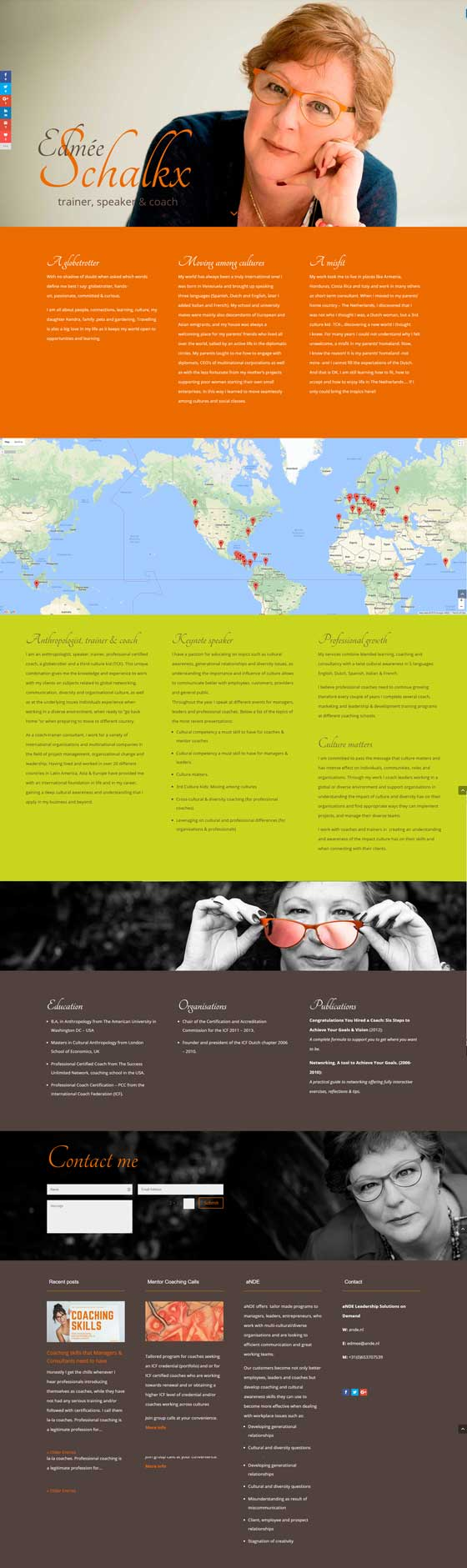 sitio web Ande coaching